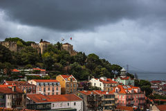 LIsbon, Castel view Royalty Free Stock Photo