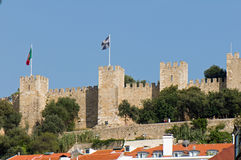 Lisbon Castle of St George Royalty Free Stock Image