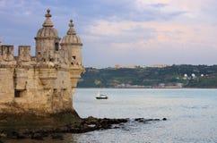 Lisbon Torre de Belem Stock Image