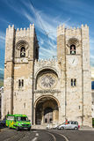 Lisbon Cathedral church Se (Santa Maria Maior de Lisboa) Royalty Free Stock Image