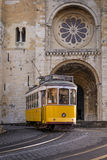 Lisbon Cathedral Royalty Free Stock Images