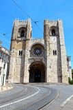 Lisbon Cathedral, Portugal Stock Photo