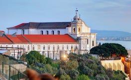 Lisbon - Church Igreja e Convento da Graca Royalty Free Stock Image