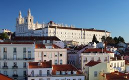 Lisbon - Church Vicente of Fora royalty free stock photography