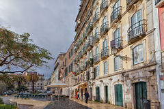 Lisbon city center Royalty Free Stock Photography