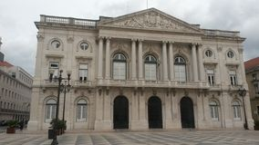 Lisbon city council. Building royalty free stock photography