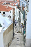Lisbon city, europe. Lisbon city , albufeira district. Houses and stairs of the historic center Stock Images