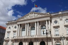 Lisbon City Hall. Lisbon city in Portugal. City Hall - local government stock images