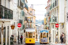 Lisbon city in Portugal Stock Photo