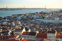 Lisbon city scenic Royalty Free Stock Photography