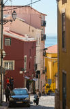 Lisbon city summer view, Portugal. Royalty Free Stock Image