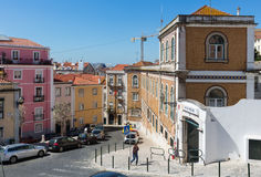 Lisbon city summer view, Portugal. Stock Image