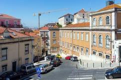 Lisbon city summer view, Portugal. Stock Photos