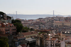 Lisbon City View Stock Photography
