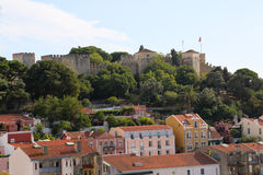 Lisbon City View Royalty Free Stock Photos