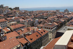 Lisbon City View Royalty Free Stock Photography
