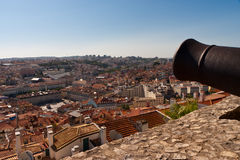 Lisbon City View Cityscape Royalty Free Stock Photos