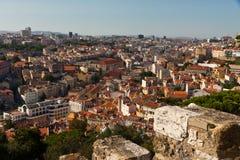Lisbon City View Cityscape Stock Image