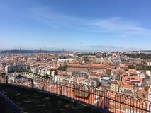 Lisbon city view Royalty Free Stock Photo