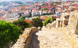 Lisbon cityscape Royalty Free Stock Photo