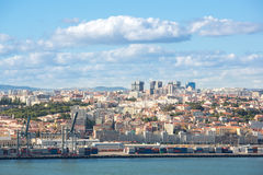 Lisbon cityscape Portugal Royalty Free Stock Photo