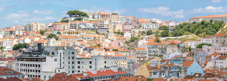 Lisbon cityscape Portugal Royalty Free Stock Photos