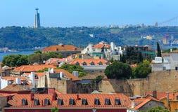 Lisbon cityscape, Portugal. Stock Images