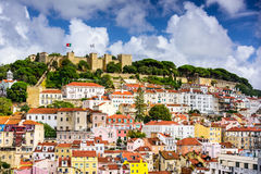 Lisbon Cityscape Stock Image