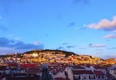 Lisbon Cityscape Stock Images