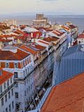 Lisbon Cityscape Stock Photography
