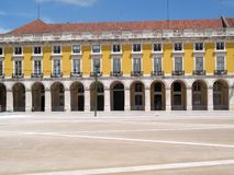 Lisbon commerce square Stock Photography