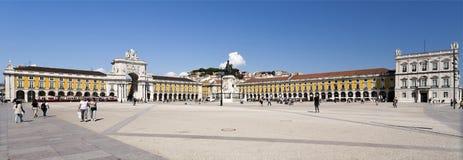 Lisbon Commerce Square Royalty Free Stock Image