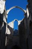 Lisbon Convento do Carmo Royalty Free Stock Photo
