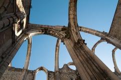 Lisbon Convento do Carmo Stock Photos