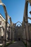 Lisbon Convento do Carmo Stock Image