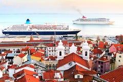 Lisbon cruise Stock Images