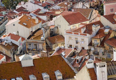 lisbon dach Obraz Stock