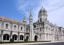 Lisbon Jeronimos kloster Royaltyfri Foto