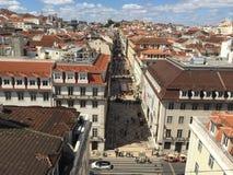 Lisbon. Details of beautiful Lisbon city center Stock Image