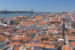 Lisbon downtown Royalty Free Stock Images