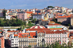 Lisbon downtown Royalty Free Stock Photo