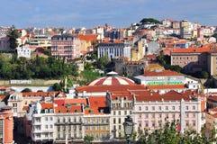 Lisbon downtown Royalty Free Stock Photo