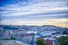Lisbon downtown, Portugal Royalty Free Stock Image