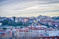 Lisbon downtown, Portugal Royalty Free Stock Photos