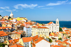 Lisbon downtown, Portugal Stock Photos