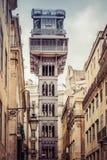 Lisbon elevator Stock Images