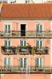 Lisbon facade royalty free stock photo