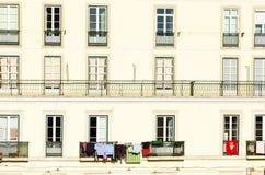 Lisbon facade stock photo