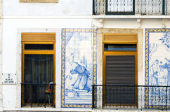 Lisbon facade royalty free stock image