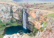 Lisbon Falls in South Africa. Lisbon Falls on the Panorama Route in South Africa Stock Images